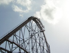 Six Flags of Texas -Titan Rollercoaster Courtesy of Chris Hagerman