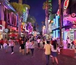 Universal City Walk Courtesy of Discover Los Angeles