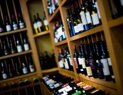 Wine Collection at Murphy's Restaurant