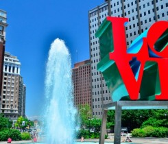 Love Park Courtesy of Visit Philly