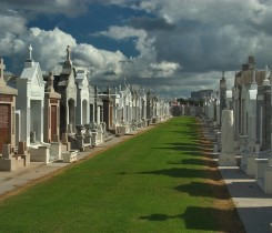 St Louis Cemetery No 1 Courtesy of