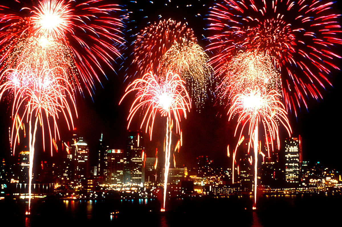 Fireworks Detroit Windsor Intl Freedom Fest